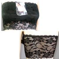 Free Shipping Multicolor Womens Sexy Strapless Lace Crop Boob Tube Bandeau Bra Clubwear FZ203