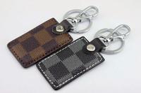 Fashion keychain pocket buckle key chain key ring car keychain classic leather buckle on key ring