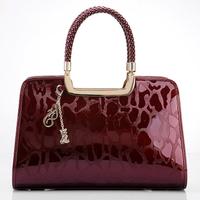 WOLSEY 2012 women's handbag cowhide handbag quality women's bag fashion women's handbag
