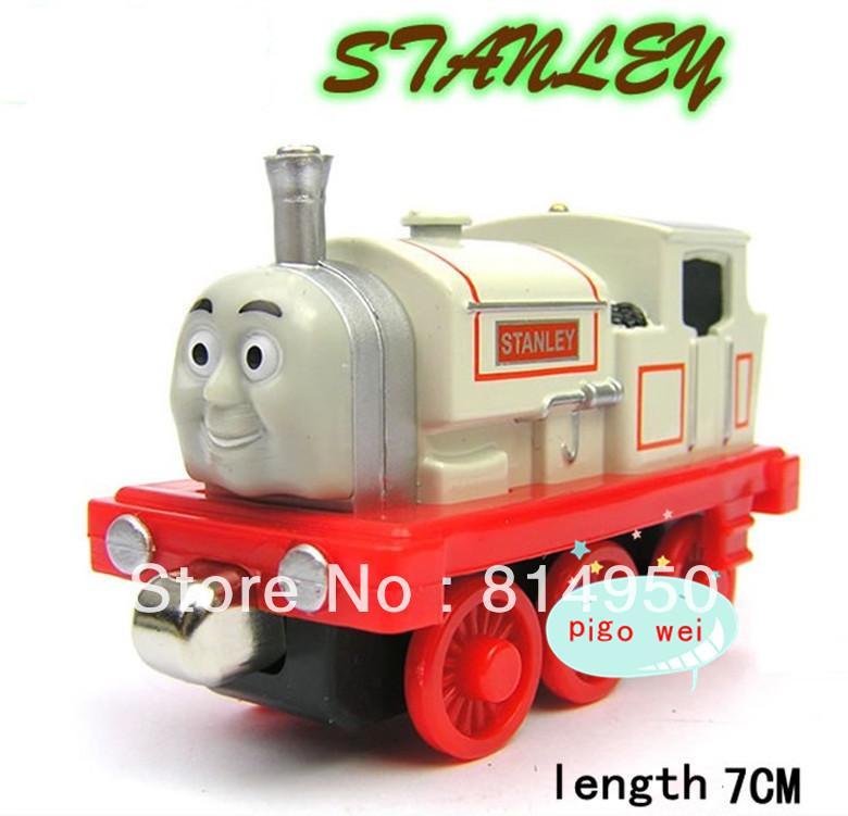 mini alloy magnetic THOMAS the train model &Stanley Locomotive, children gift,C120613(China (Mainland))