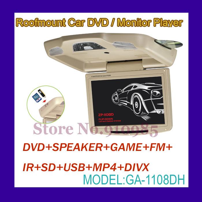 Roofmount Car/DVD Monitor Player (GA-1108DH)(China (Mainland))