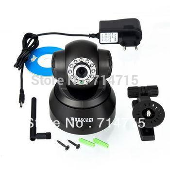 Black Wireless IP Webcam Camera Night Vision 11 LED WIFI Cam 100% Brand New