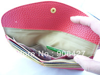 RED Credit Card Purse womens Clutch Wallet For Gift