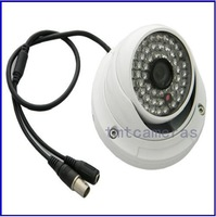 Hot selling free shipping 800tvl New 48LED IR Night Vision 3.6mm Lens Indoor Dome Color CCTV Camera high resolution with1x power