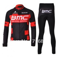 free shipping!2012 BMC team cycling jersey and pants kit/bicycle wear/sports wear/bike jersey/long sleeve cycle clothes
