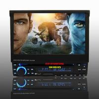 HD 7 Inch Touch Screen 1 Din Car DVD GPS Player 3D Menu RDS PIP USB SD Free 4GB Map Free Shipping