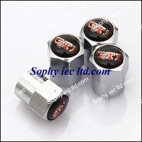 50sets/lot Mix order109 logo mini style GTI logo tire valve cap