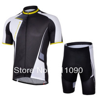 Free shipping!NEW 2013 Northwave black cycling short sleeve jersey and shorts set/bicycle clothes/Ciclismo jersey/cycle shorts