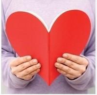 Love heart notepad love tsmip love notebook