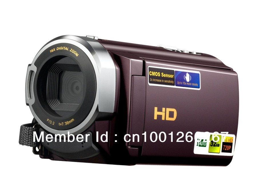 "Hot sell digital camera camcorder 16MP 16 x digital zoom 3.0"" display touch screen lithium battery Mini USB 2.0 OEM&ODM 501Z(China (Mainland))"