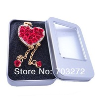 30pcs/lot free shipping+wholesales Square  Tin  Display Box for U disk drive,Keychain,jewelry size:115*85*22mm