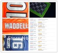 Customized Football Jerseys-Free/Fast Shipping,Sewn On 2012 New Brand Youth Custom Football Game Jerseys,Size:S,M,L,XL