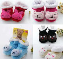 M-30 Free Shipping!Wholesale Toddler Shoes,Half Velvet,Bell Socks.(China (Mainland))