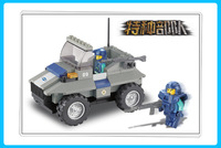 Best gift Building Block Set SlubanB0195 raider buggies    Model Enlighten Construction Brick Toy Educational  Toy for Children