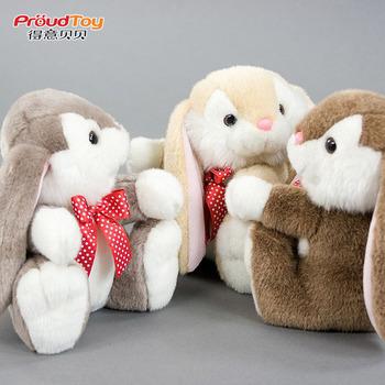 Long rabbit high quality plush toy doll birthday gift
