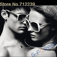 Retro sunglasses Unisex big-framed shape Ultra light sunglasses New Arrival Brand designer sunglasses Free shipping
