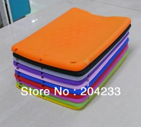 Hot selling silicon case cover for apple ipad mini free shipping 100pcs/lot