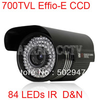 High Resolution Security CCTV 700TVL EFFIO-E SONY CCD 84 IR Surveillance Camera