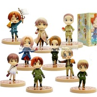 Hetalia One Coin Grande Figure Set of 9x Japan anime Hetalia Axis Powers official Free Shipping