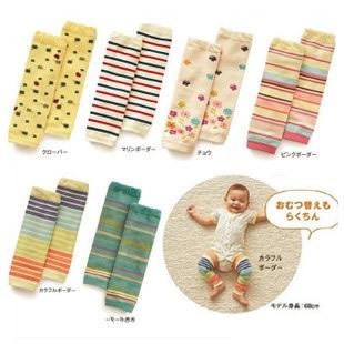 Дети комплект носков kneepad младенца ползают ножны 100% хлопок комплект тепловые колен-высокие - высокое комплект носков