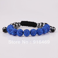 dicate luxury fashion rhinestone pearl bracelets Environmental alloy without nickel plated free shipping RuYiSL75