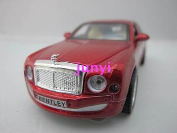 New arrival cars wanbao BENTLEY car model webworm plain BENTLEY cars 3 open the door