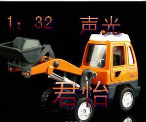 Alloy engineering car bulldozer mining machine WARRIOR open the door belt acoustooptical