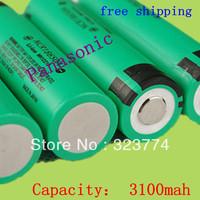 2pcs/lot New Original 18650 NCR18650A Rechargeable Li-ion battery 3100mAh For Panasonic,+Free shipping
