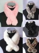 Fur Scarf Rabbit SOFT WARM Free Shipping HOT SALE(China (Mainland))