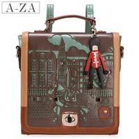 Handbag vintage preppy style messenger bag,vintage school should bag