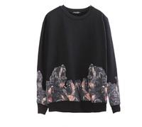 Женские толстовки и Кофты Sets the pug and dogs 3D printing fleece NOT-U3569-01 hoodies sweater