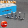 Free shipping!Chevrolet Malibu/Cruze high light Plating Door Lock Stick Pin Cap Set+Holding 8PCS(China (Mainland))