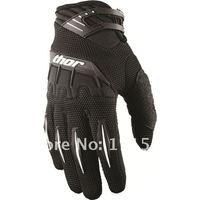 2012 Men's Motorcycle Racing Thor Spectrum Gloves Motorbike Cycling Biker Bicycle Sports Gloves Green Free shipping  aswp
