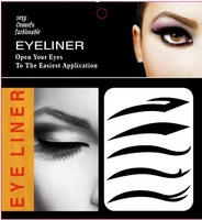 Free shipping 100 xEye liner Sticker Shadow Temporary Tattoos  3 designs for mix