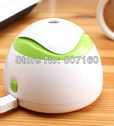 2013 New Creative Item Free Shipping Mini USB Home Humidifier/Office Tool Baby Care Humidifier Humidifying/Aroma diffusion X-mas(China (Mainland))