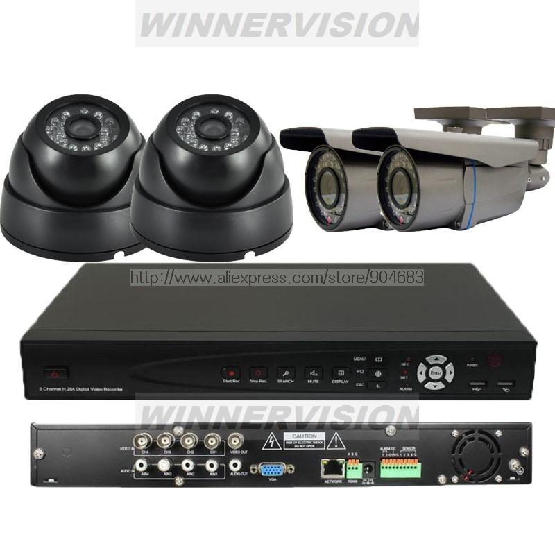 Камера наблюдения OEM 420TVL Sony CCD 4Channel CCTV DVR D1 KIT81-04/IB2VA2-420 dvr карта oem easycap 4 usb dvr 32 64 bit os usb4