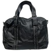 Man bag rivet prettifier belt fashion casual bag handbag male shoulder bag messenger bag