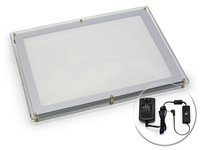 FREE SHIPPING 1 tattoo light pedal  LED A3 Ulta Thin XL Tattoo Light Box Stencil Tracing Table 14.5x18.25