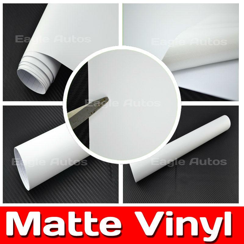 Matt White car wrap companies Best Carbon / Size: 1.52 m x 30 m / FREE SHIPPING(China (Mainland))