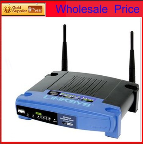 Linksys Wireless-G Broadband Router 2.4GHz V3 with 4 LAN and 1 WAN supporting IEEE 802.11b/g - 54Mbps(China (Mainland))