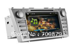 8 Inch Toyota Camry Car DVD Player/GPS/Buletooth+TF Card/USB port+Steering wheel control+720P video play+rear camera input(China (Mainland))