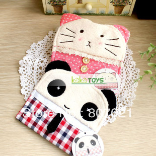 Mr Panda practical cartoon cat lady girl sundry package sanitary napkin bag/sanitary napkin receive bag(China (Mainland))