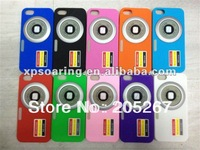 Camera silicon case skin cover for iphone 5G 5S