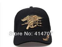 Free Shipping Retail U.S. Military Navy SEALs Tactical Baseball Sun Hat Cap Uniform Commemorative Headwear Adult Canvas Cap