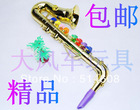 #4000 High-grade ABS Child saxophone toy child musical instrument(China (Mainland))