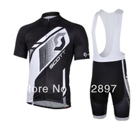 Hot sale!2013 Pro bike bib shorts short sleeve cycling jersey/Ciclismo wear/bicycle clothes