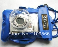hot sell Underwater Waterproof Case Bag Pouch For Digital Camera ski Swimming Beach Floating