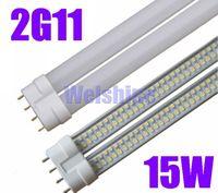 Free Shipping SMD3528 2G11 LED Tube, 15W Brightness LED PL Tube 2G11 led lamp---L42MM