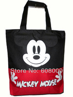 Cute mickey mouse red shoulder bag,shopping bag wholesale,free shipping  219-BE