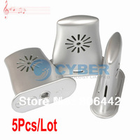 5Pcs/Lot Acoustic Guitar Humidifier With Humidity & Temperature Sensor Silvery Free Shipping 8283